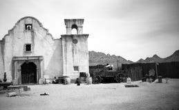 图森, AZ,美国,大约1998年-老图森演播室 图库摄影