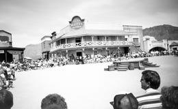 图森, AZ,美国,大约1998年-老图森演播室 库存图片