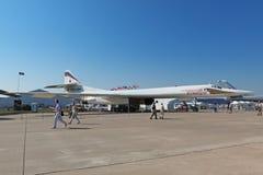 图波列夫图-160 免版税库存照片
