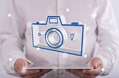 图片分享的概念 库存照片
