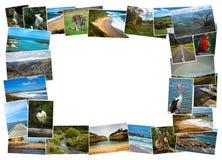 图片拼贴画从澳大利亚的 免版税库存图片