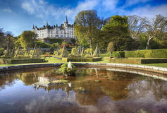 Dunrobin城堡,苏格兰 免版税库存照片