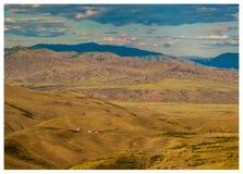 图瓦共和国共和国山 免版税库存照片