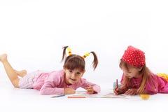 图画孩子 免版税库存图片