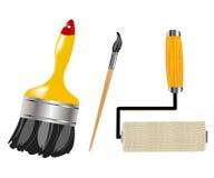 图画油漆工具 免版税库存照片