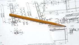 图画铅笔 免版税图库摄影