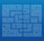 图纸计划 免版税库存图片