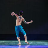 图腾纹身花刺现代舞蹈 免版税库存图片