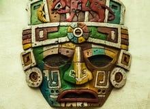 图腾面具,面具象 免版税库存照片