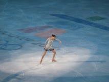 图节目金na奥林匹克滑冰的yu 免版税库存照片