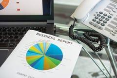 图表分析 免版税图库摄影