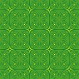 图表抽象设计墙纸绿色花 免版税库存图片