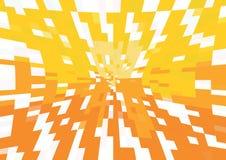 图表橙色背景传染媒介 向量例证