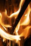 图表的火背景 库存图片
