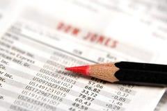 图表股票 免版税库存照片