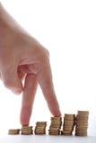 图表财务 免版税图库摄影