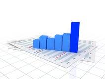 图表财务 免版税库存照片