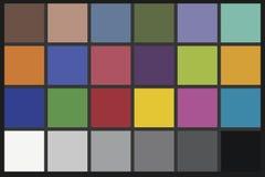 图表验查员颜色 免版税图库摄影