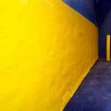 图表黄色墙壁 免版税库存照片