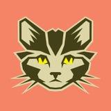 """图解猫vector†""""股票例证文件 免版税库存照片"""