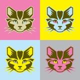 """图解猫vector†""""股票例证文件 图库摄影"""