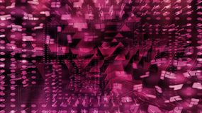 图解紫色万花筒背景 图库摄影