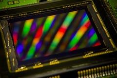 图象传感器特写镜头 库存照片