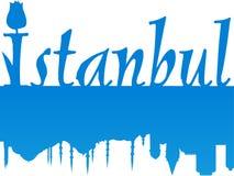 图象大伊斯坦布尔 免版税库存图片