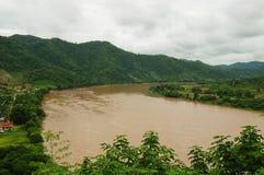 图象湄公河 库存照片
