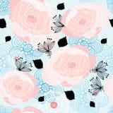 图象玫瑰纹理 库存图片