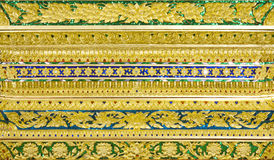 图象雕刻艺术性从泰国绘画&文学backgr的 免版税库存照片