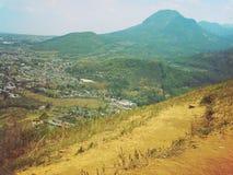 巴图,印度尼西亚Banyak山  库存照片