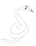 蛇的彩图S 免版税库存照片