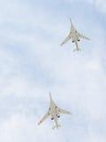 图-160航空器 免版税库存图片
