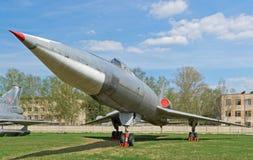 图-22超音速轰炸机 图库摄影