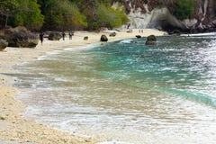 巴图Putih海滩 库存图片