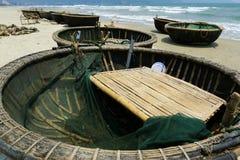 圆小船 库存照片