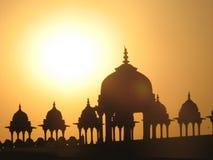 圆屋顶印地安人 库存图片