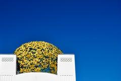圆屋顶金黄博物馆sezession维也纳 库存照片