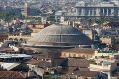 圆屋顶phantheon罗马 库存图片