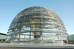 圆屋顶reichstag 免版税库存照片