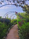 圆山大饭店的du Cap Ferrat庭院 图库摄影