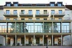 圆山大饭店霍夫县Ragatz,坏Ragatz,瑞士 免版税库存图片