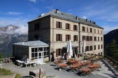 圆山大饭店de Montenvers,法国 免版税库存照片
