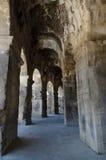 圆形剧场竞技场法国罗马的尼姆 库存图片