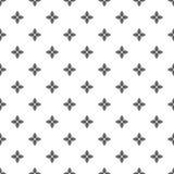 圆形和花的无缝的样式 几何wallpape 免版税库存图片