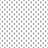 圆形和菱形的无缝的样式 几何wallpa 免版税库存图片