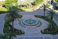 圆形建筑南佛罗里达勒克斯的旅馆 免版税库存照片