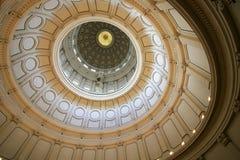 圆形建筑奥斯汀的国会大厦 免版税库存图片