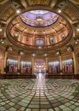 圆形建筑密执安州的国会大厦 免版税库存照片